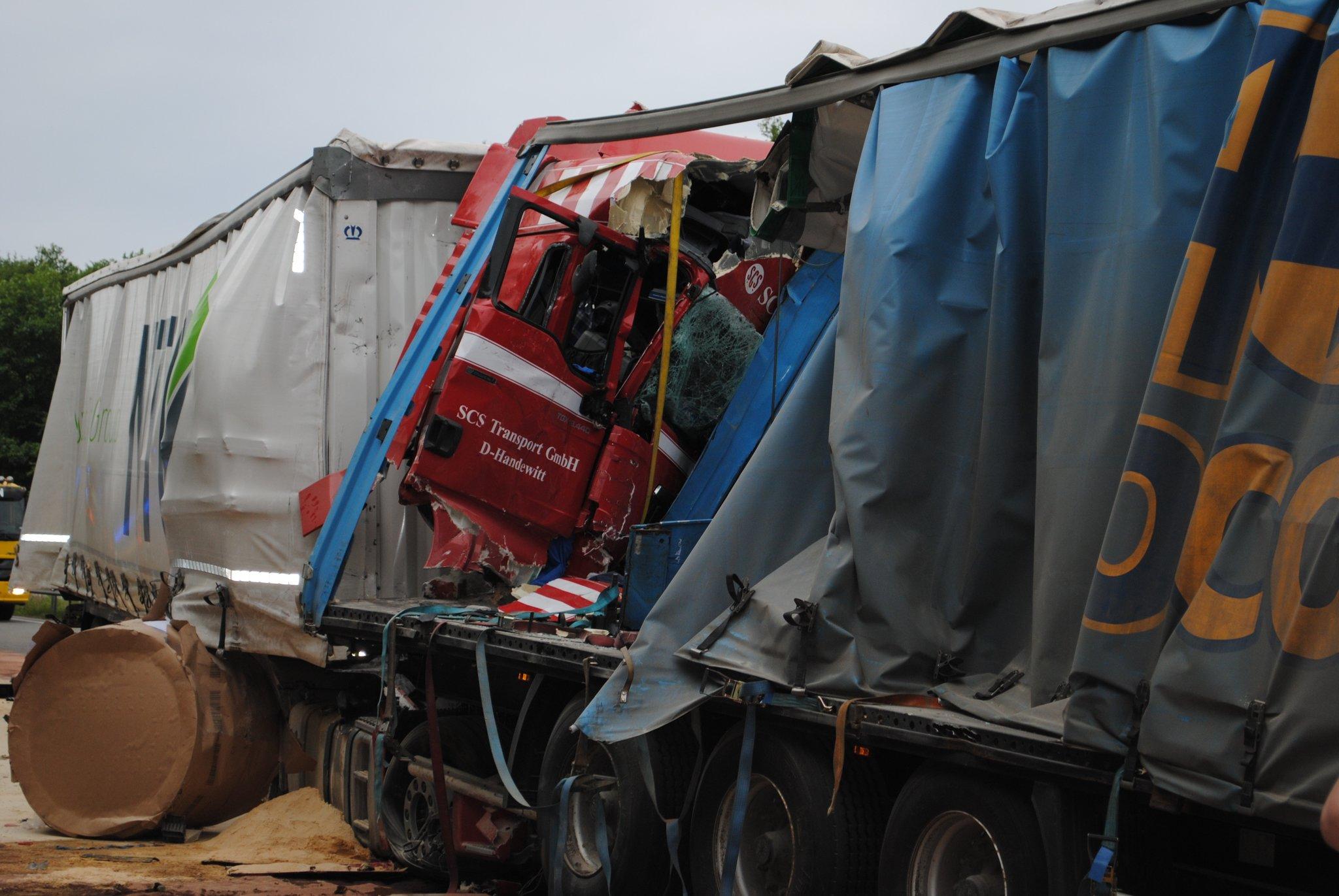 Tödlicher Lkw Unfall