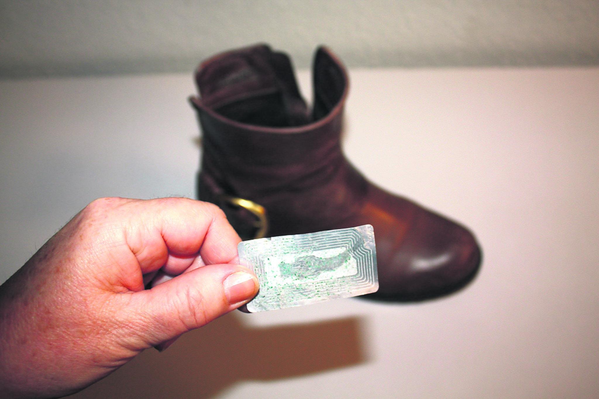 puma schuhe größenetikett entfernen