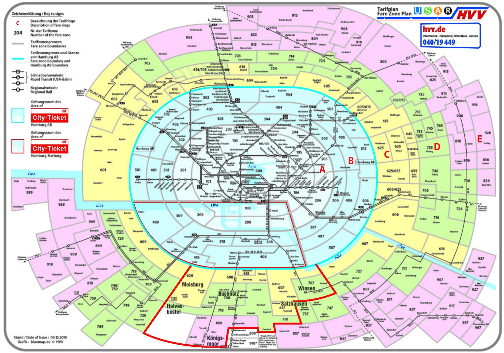 Hvv Karte Zonen.Zahlen Einige Weniger Zahlen Andere Mehr Hollenstedt
