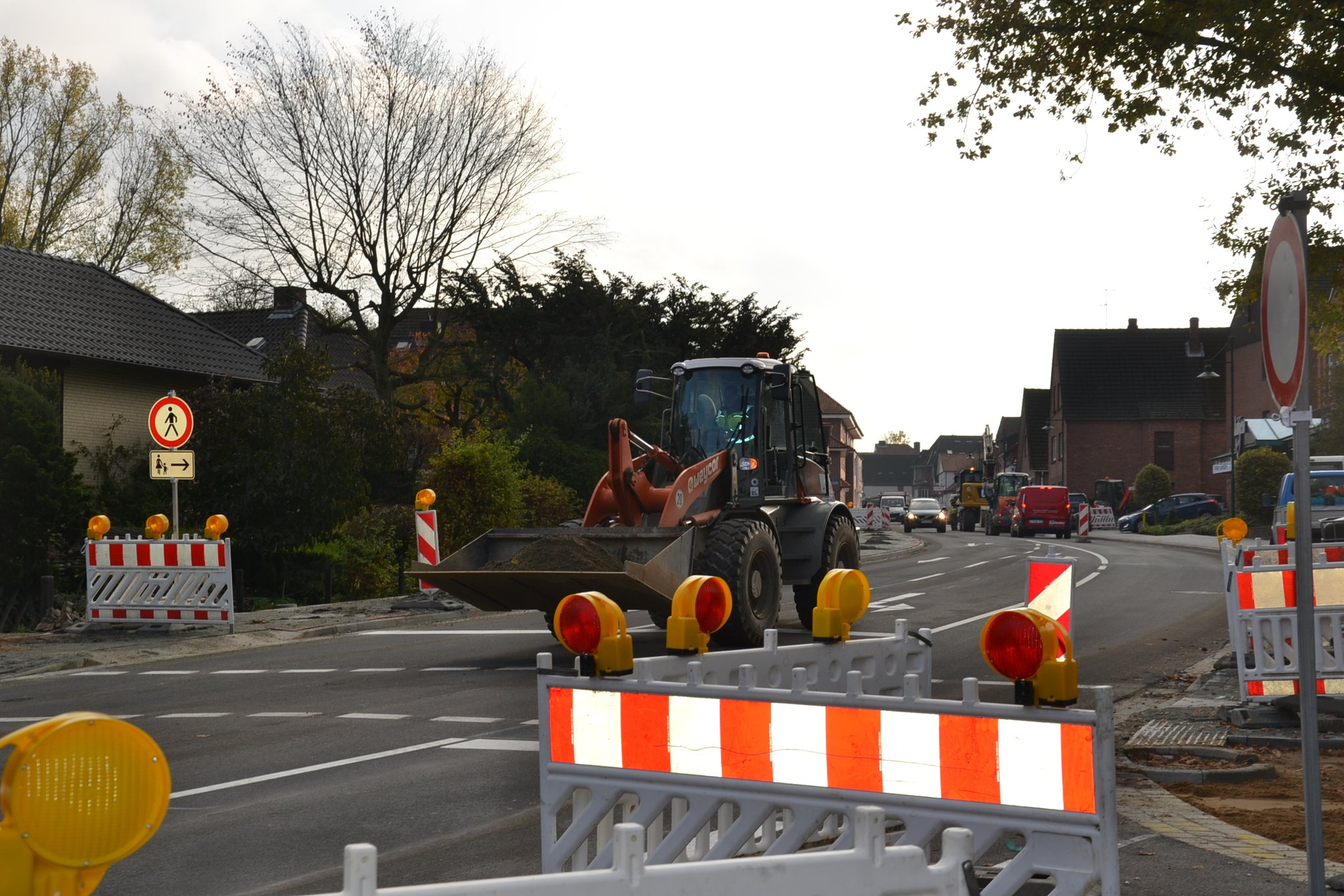 Herrenstraße: Bauarbeiten fast fertig - Harsefeld - Kreiszeitung Wochenblatt