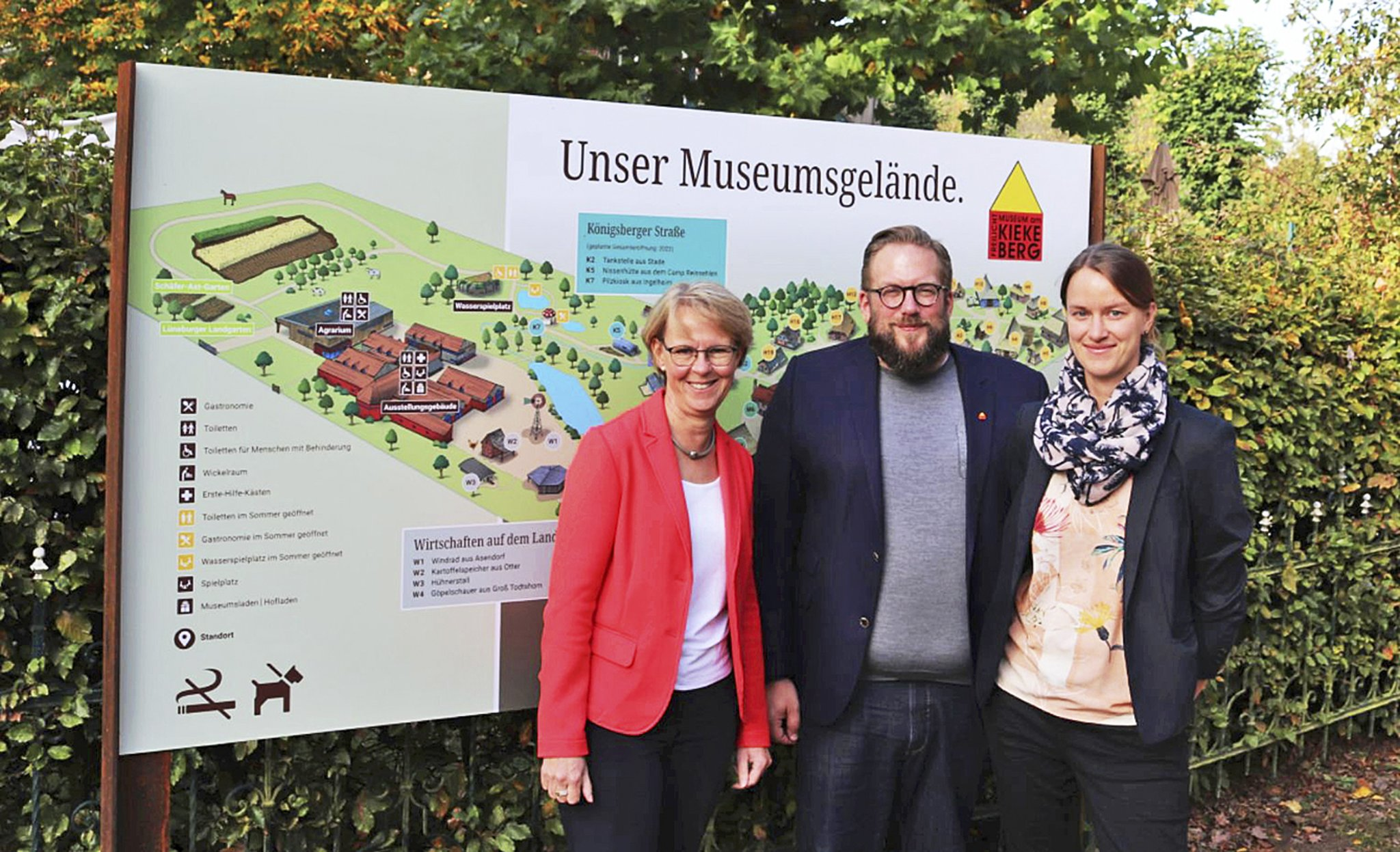 """Neue Beschilderung im Freilichtmuseum: """"Ein Juwel des ländlichen Raumes"""" - Kreiszeitung Wochenblatt"""