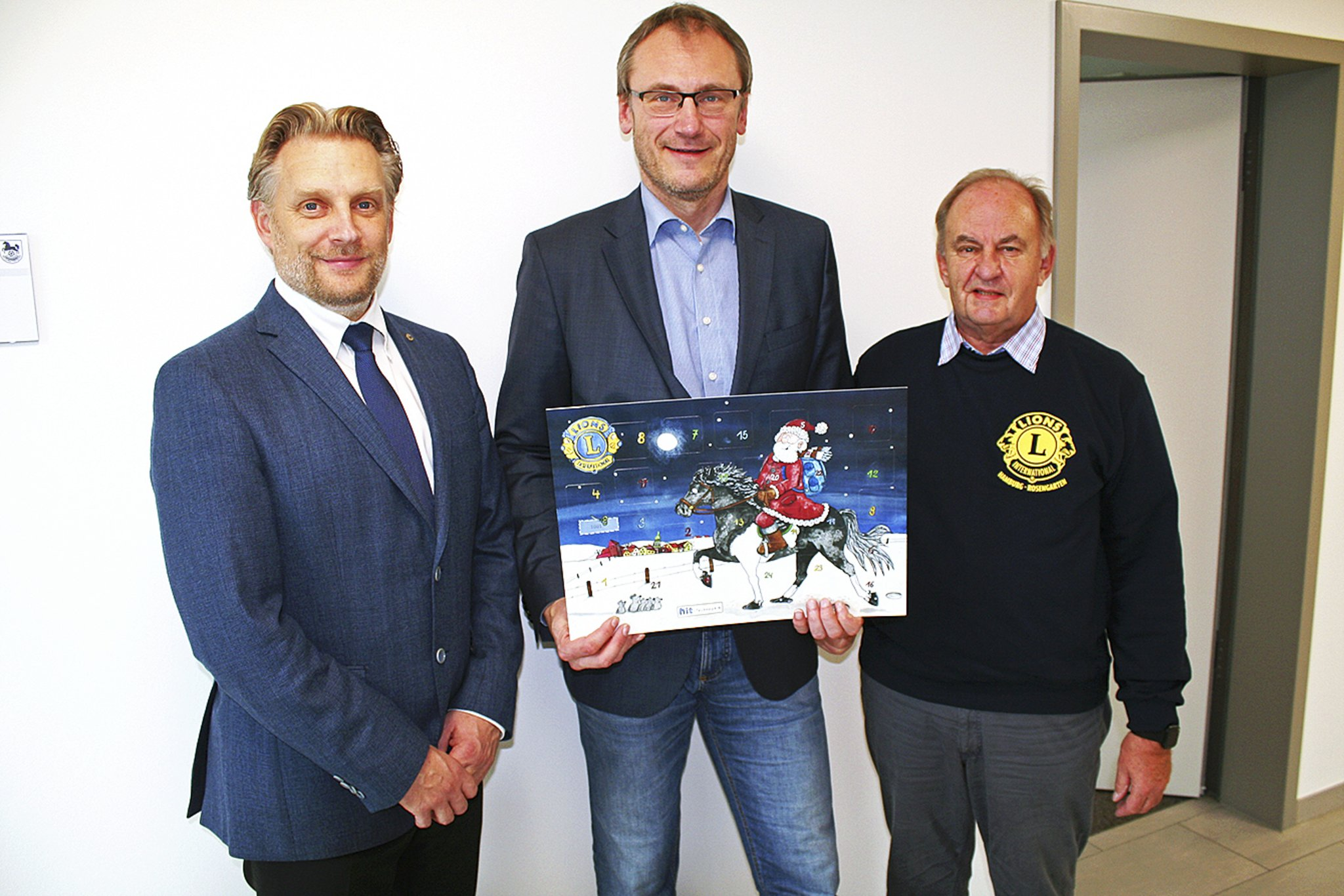 Adventskalender des Lions Clubs Rosengarten: Gewinne im Wert von 27.000 Euro - Kreiszeitung Wochenblatt