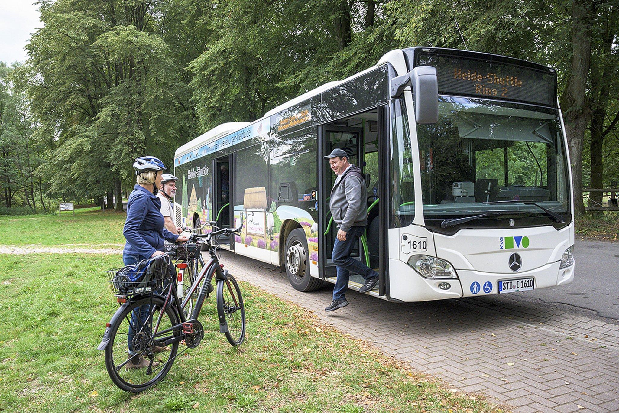 Bilanz des Heide-Shuttles: Sehr erfolgreich unterwegs - Kreiszeitung Wochenblatt