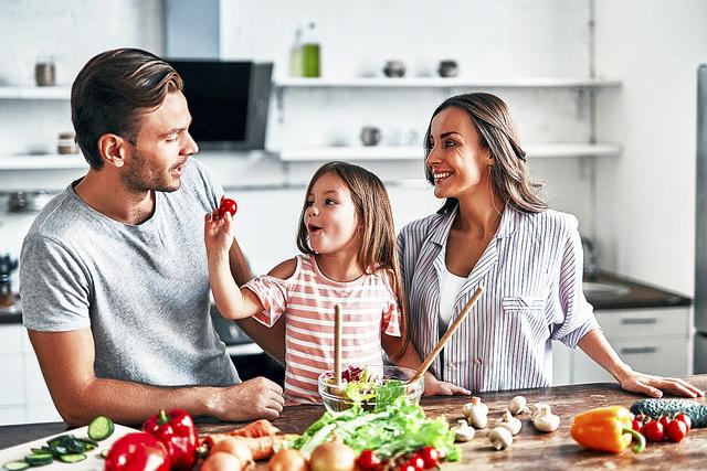 Gesundes und reichhaltiges Essen zur Gewichtsreduktion