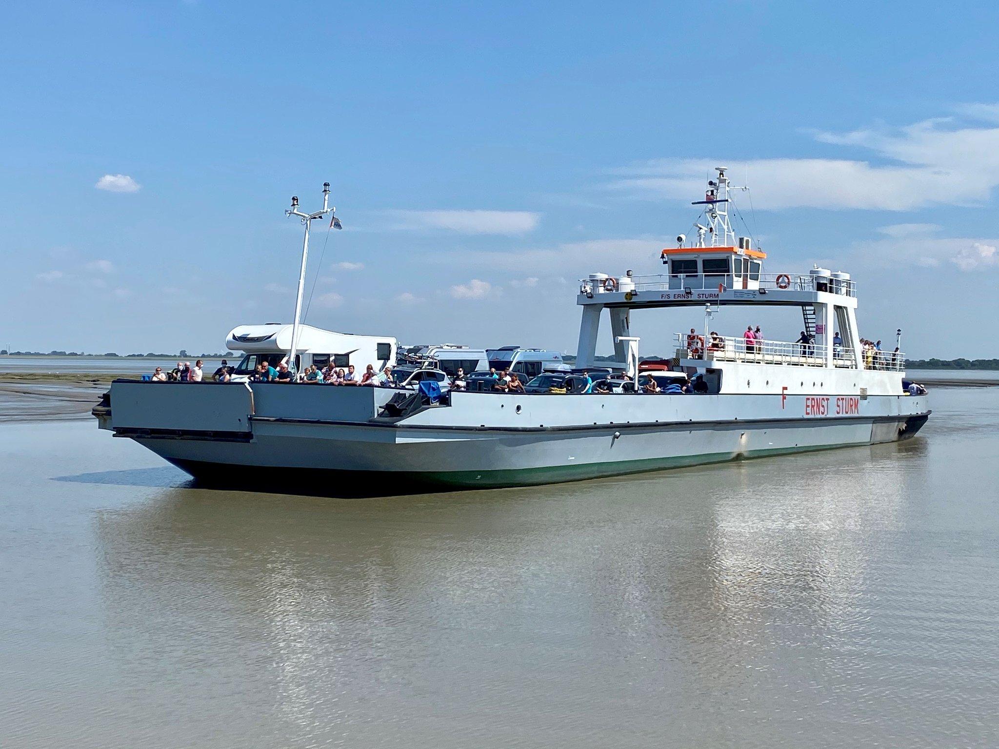 Fähre Wischhafen Corona