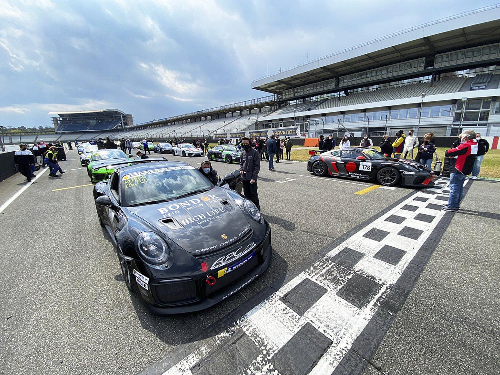 "Perfekter Saisonauftakt im Porsche Sprint GT                                                                  Wilhelm Lathus ""ballert"" zum Doppelsieg"