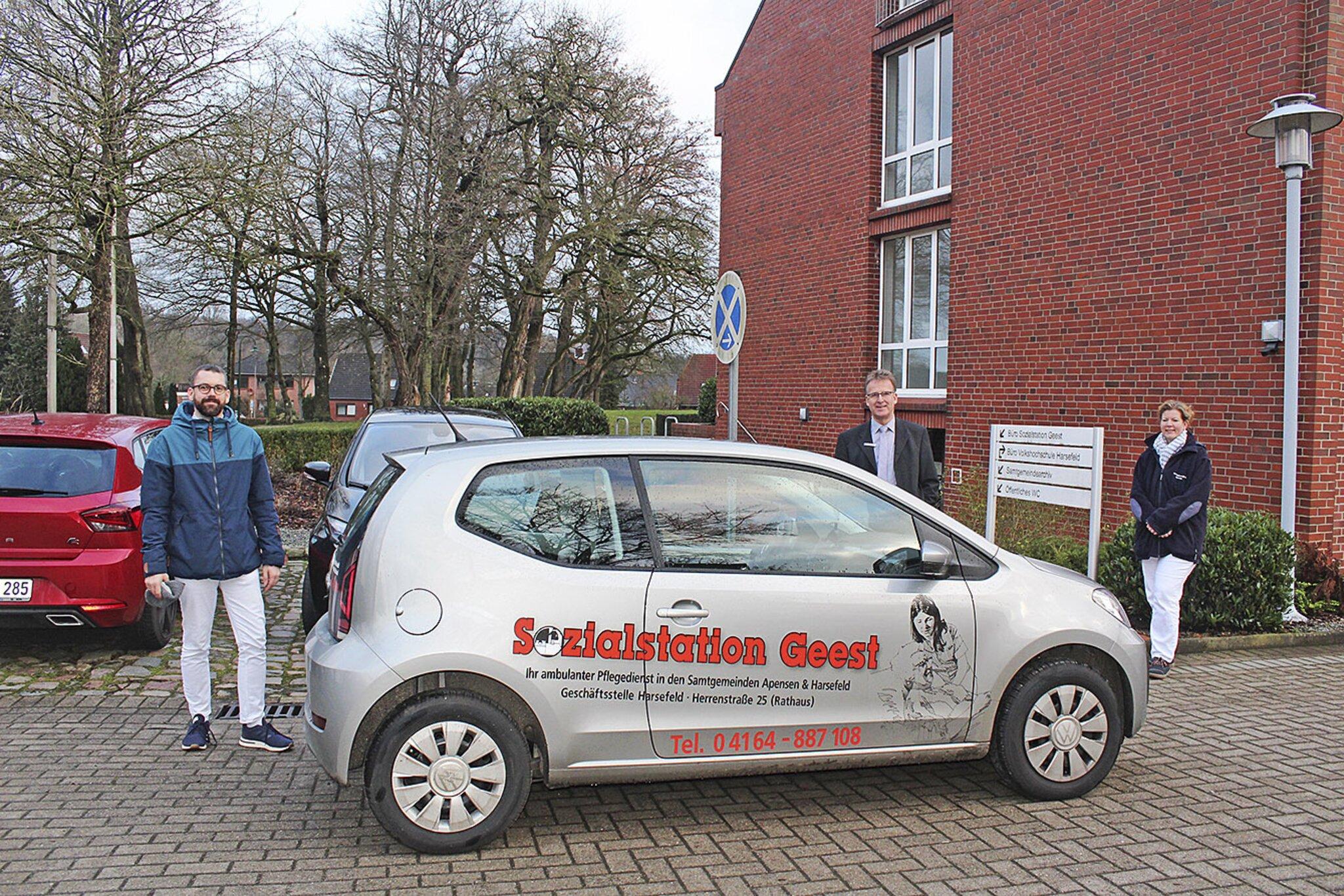 Gut versorgt in Harsefeld                                                                  Im Pflegefall vom Team der Sozialstation Geest optimal betreut