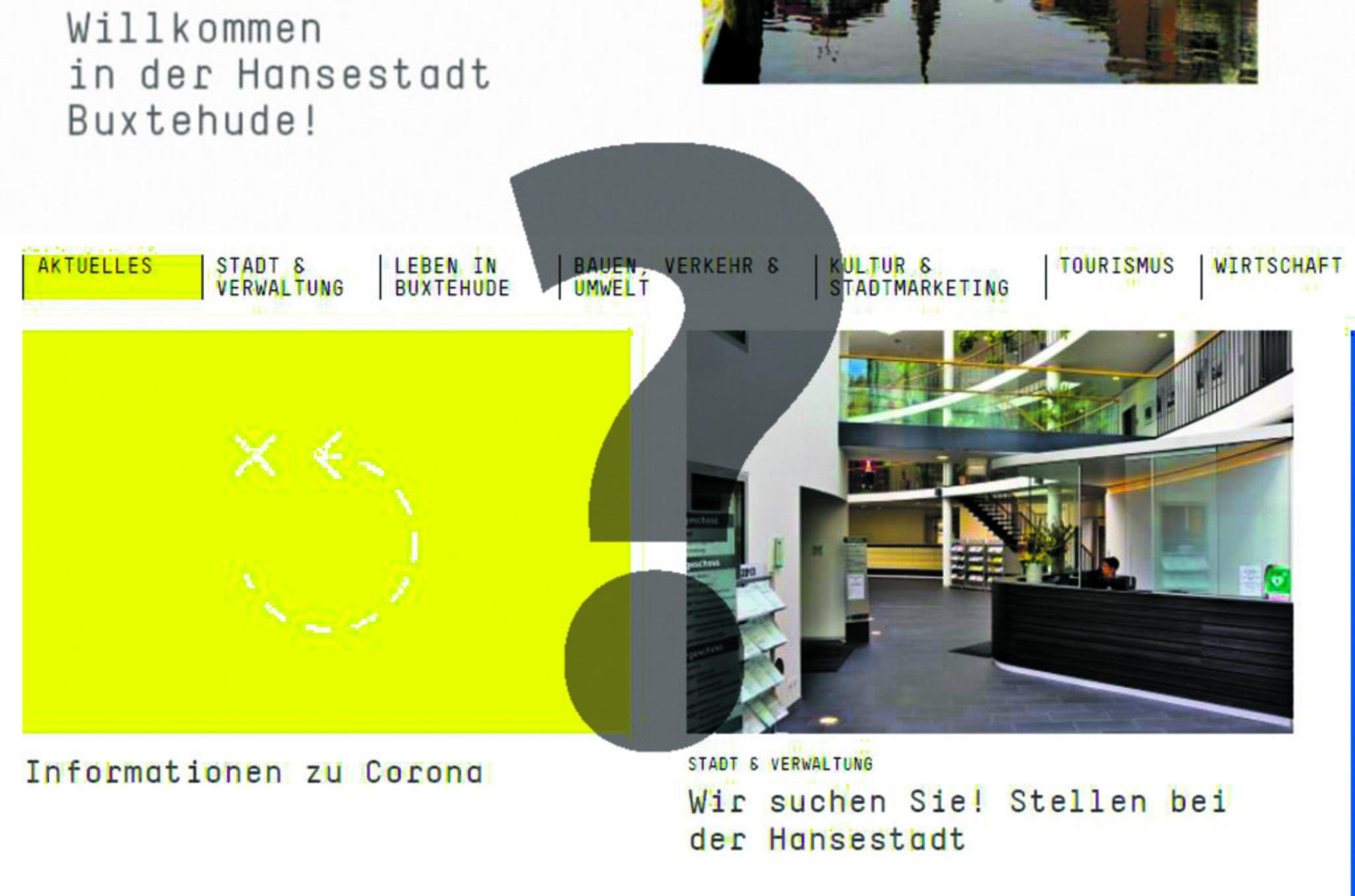 Buxtehude-Homepage soll barrierefreier werden                                                                  Leichte Sprache kann ganz schön schwierig sein