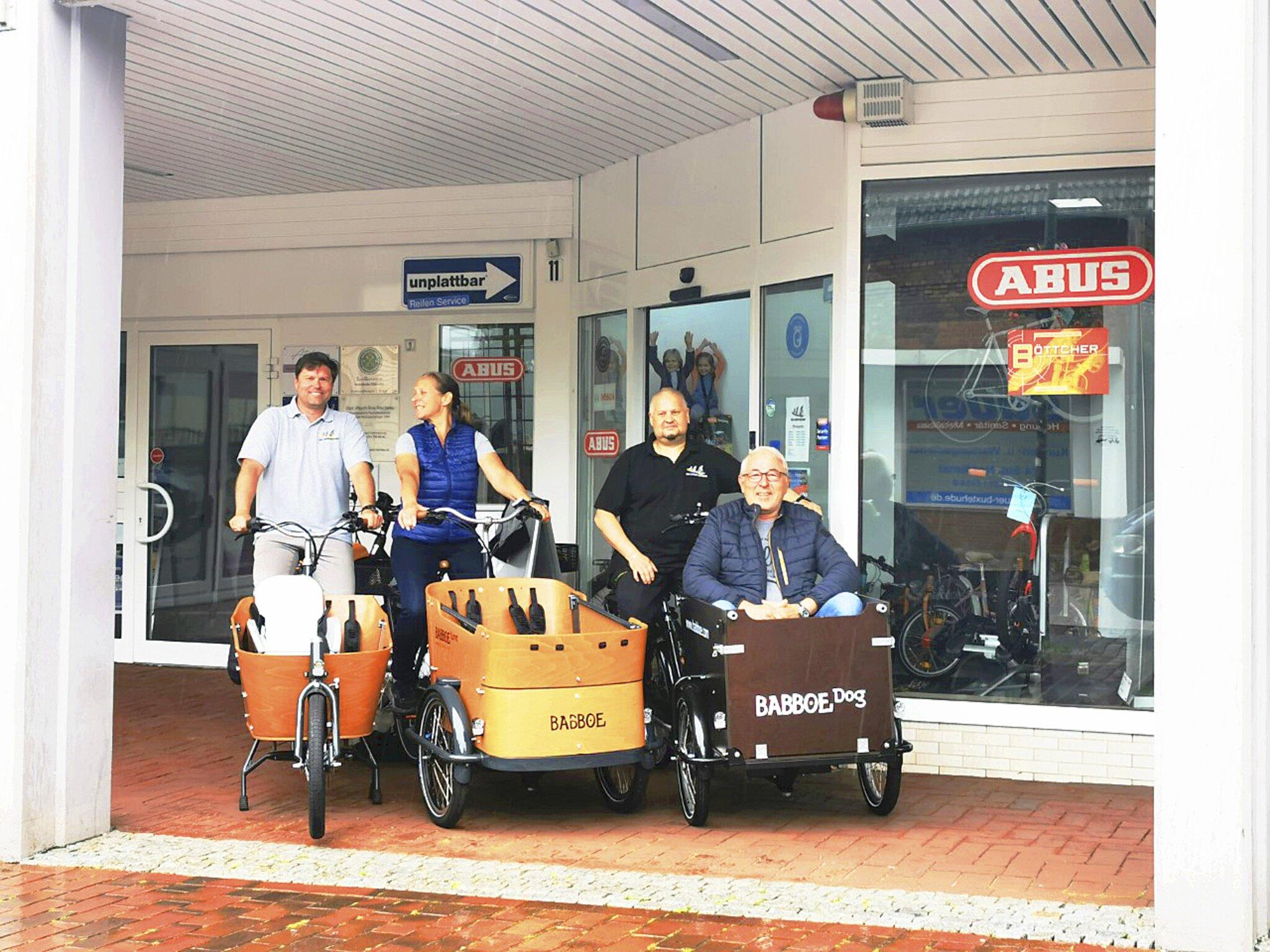 Aktionstage bei der Bike-Station Buxtehude                                                                  Was können Lastenräder?