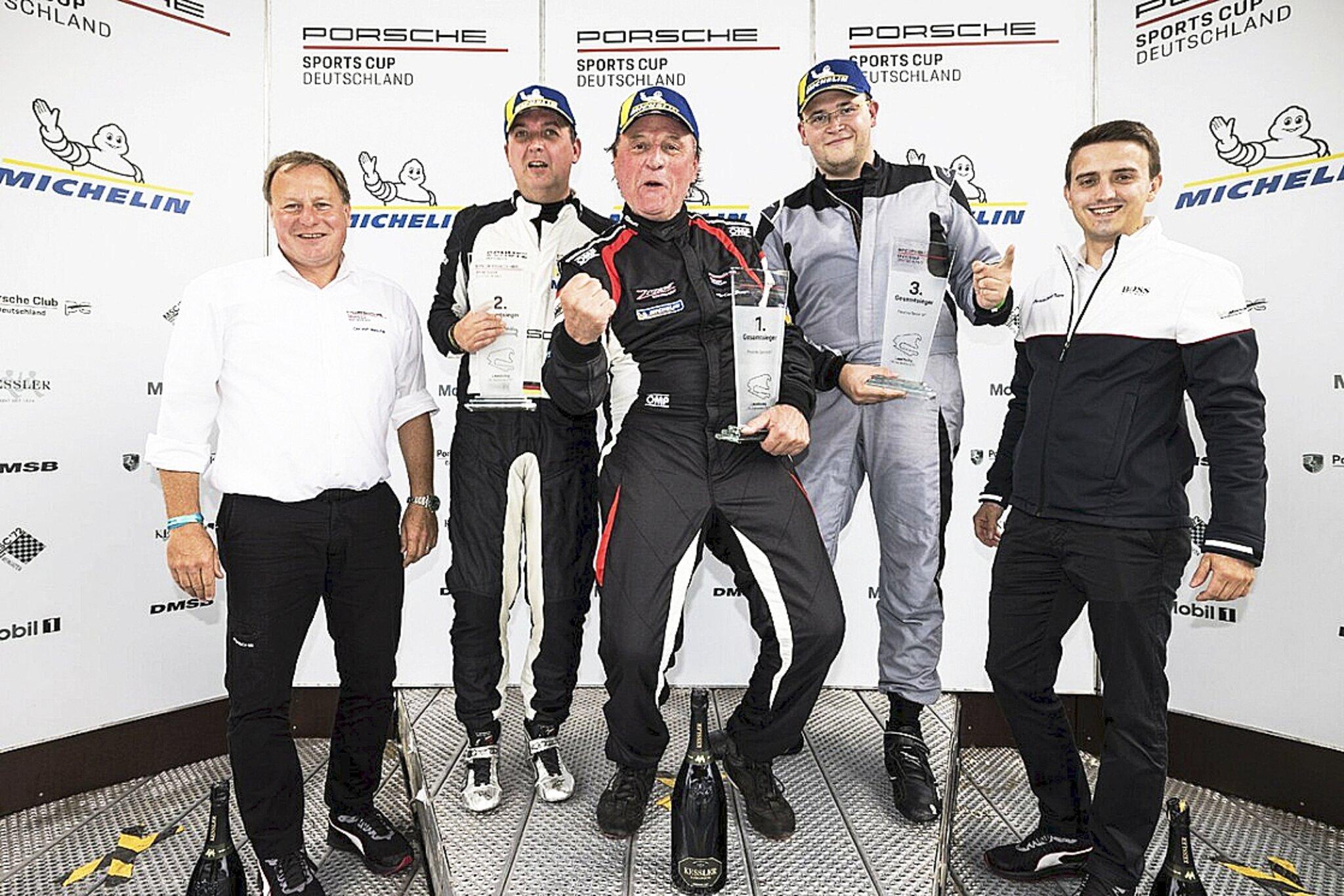 Porsche Sprint GT Cup                                                                  Lathus rockt den Lausitzring