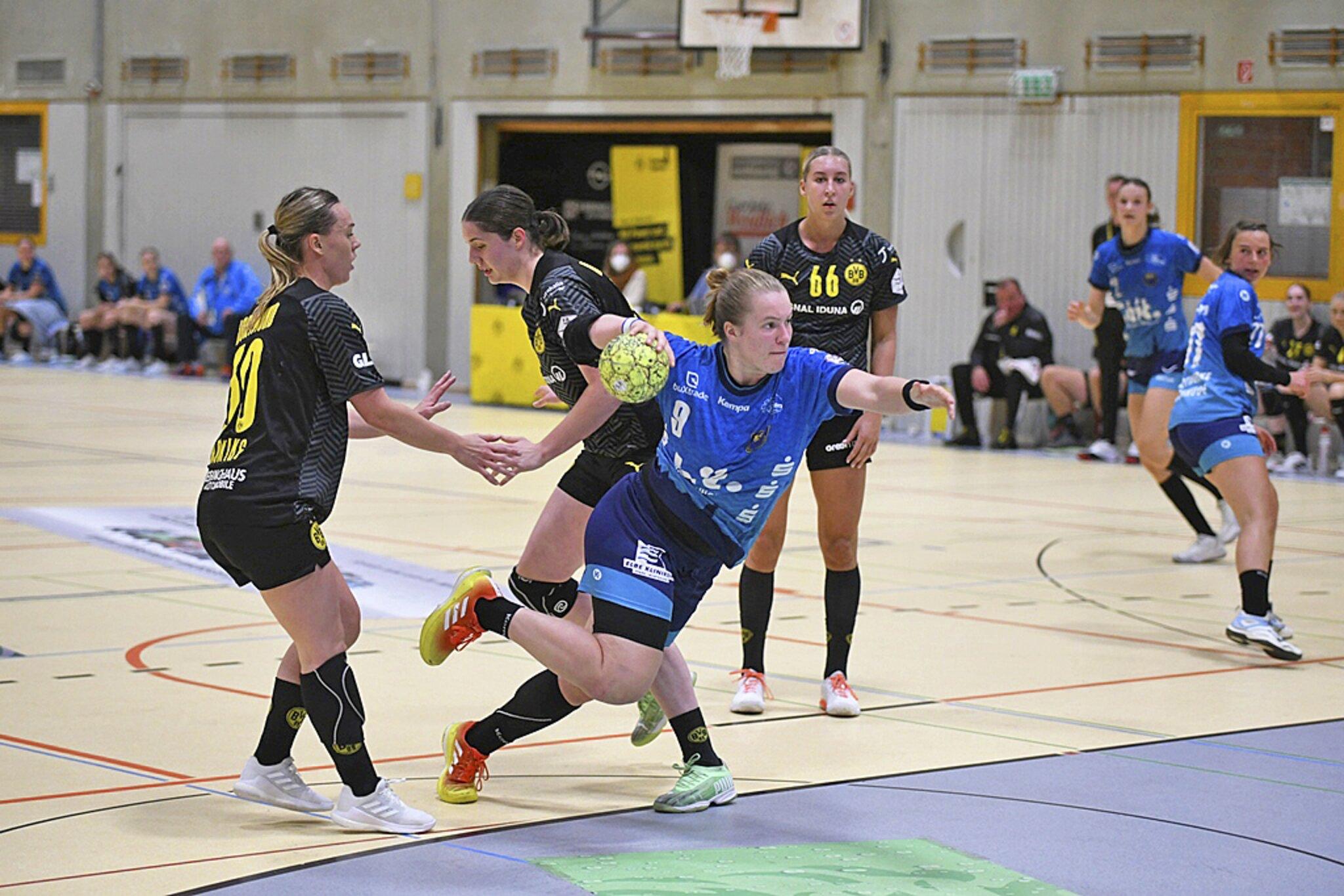 Buxtehude verliert beim deutschen Meister 31:37                                                                  Dortmund ist für die BSV-Handballerinnen zu stark