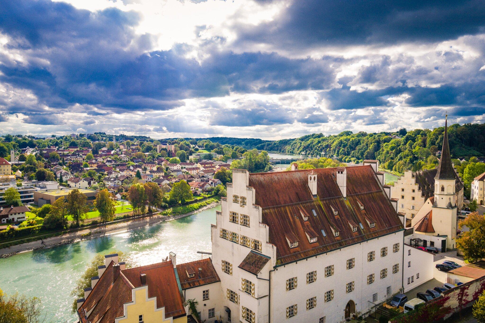 Reise                                                                  Radrundweg bietet besondere Ansichten in Wasserburg am Inn